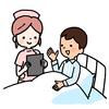 看護師さんと患者さん