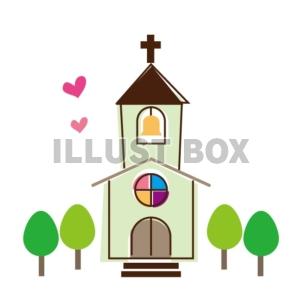 無料イラスト 教会