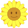 笑顔のヒマワリ