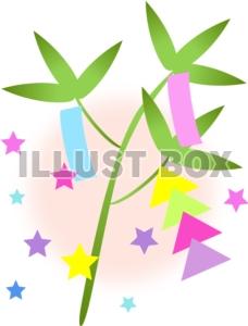 笹飾り シンプル
