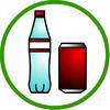缶とペットボトル
