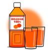 ペットボトル・オレンジジュース