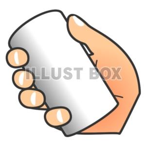 無料イラスト 手の動き手の仕事缶筒を握る