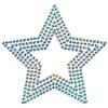 【ワンポイントイラスト】 クリスマス ダイヤの星型オーナメント01