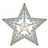 【ワンポイントイラスト】 クリスマス ダイヤの星型オーナメント02