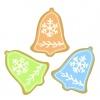 クリスマスベルのクッキー三種