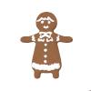 クリスマスのジンジャークッキー・女の子