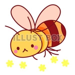無料イラスト ミツバチのイラスト