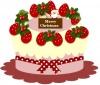 クリスマスケーキ苺ムース