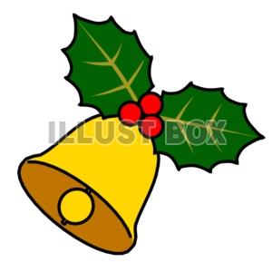無料イラスト クリスマスベル