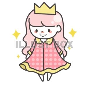 無料イラスト コスプレお姫様