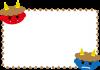 【節分】【透過PNG】赤鬼と青鬼のフレーム