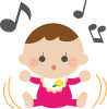【EPS】Music♪Baby【透過PNG】