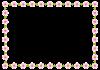 桃の花フレーム<ひな祭り>