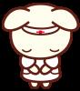 うさぎの看護師さん<おじぎ>