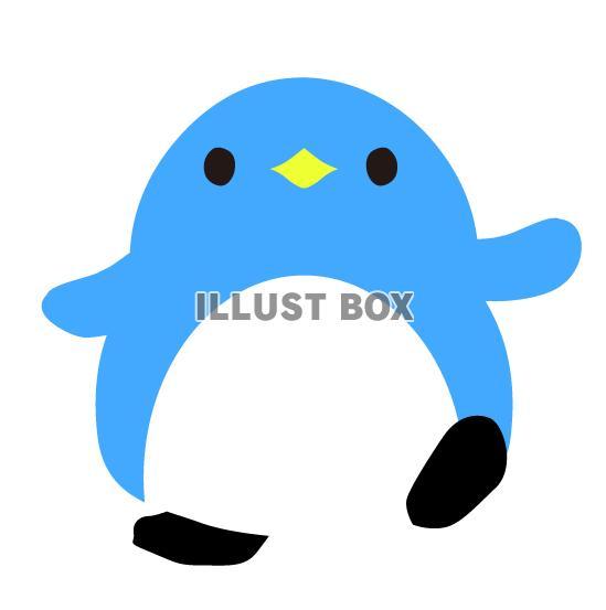 ペンギンのイラストカット