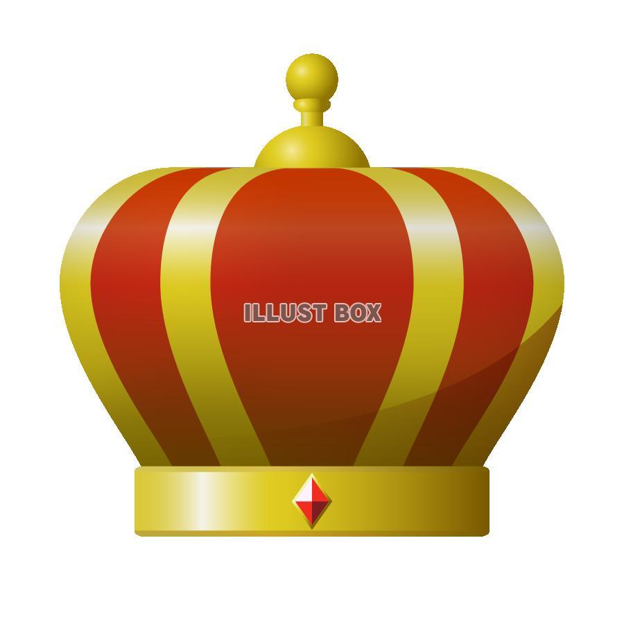 無料イラスト 王冠のイラスト 透過png