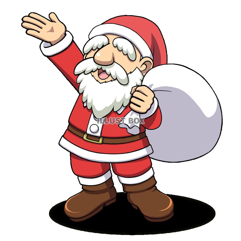 無料イラスト クリスマス サンタクロース