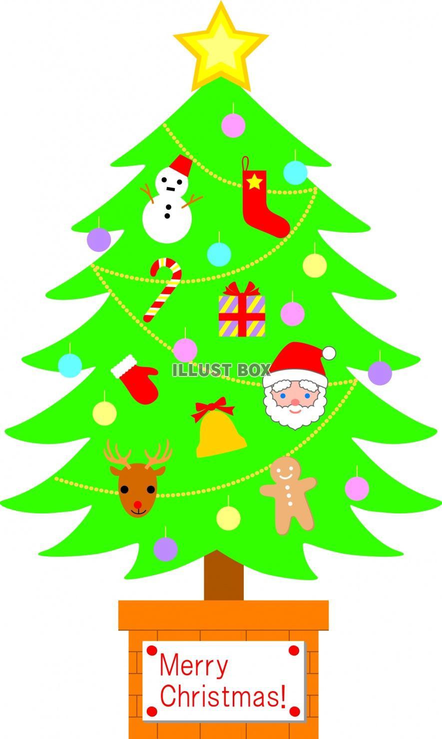 クリスマスツリーの画像 p1_8