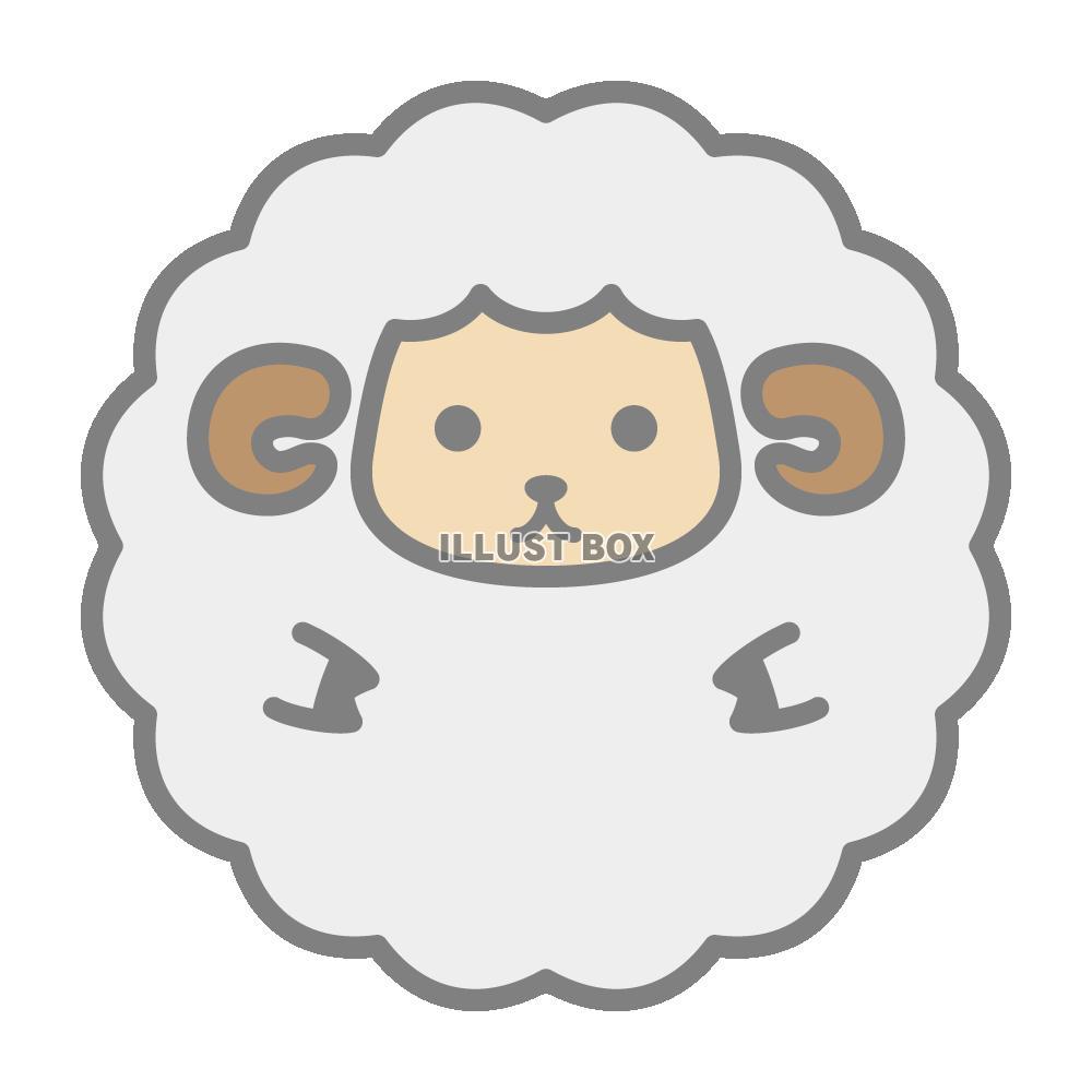 Pin 羊のイラスト画像 ひつじ on ... : 2015 年賀状 無料 : 年賀状