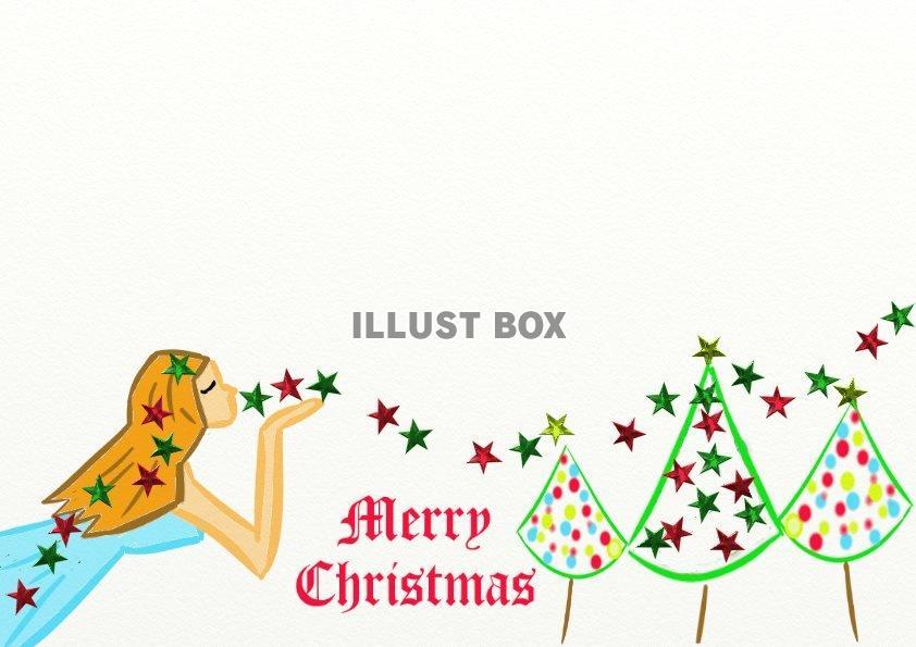 無料イラスト オシャレなクリスマス2