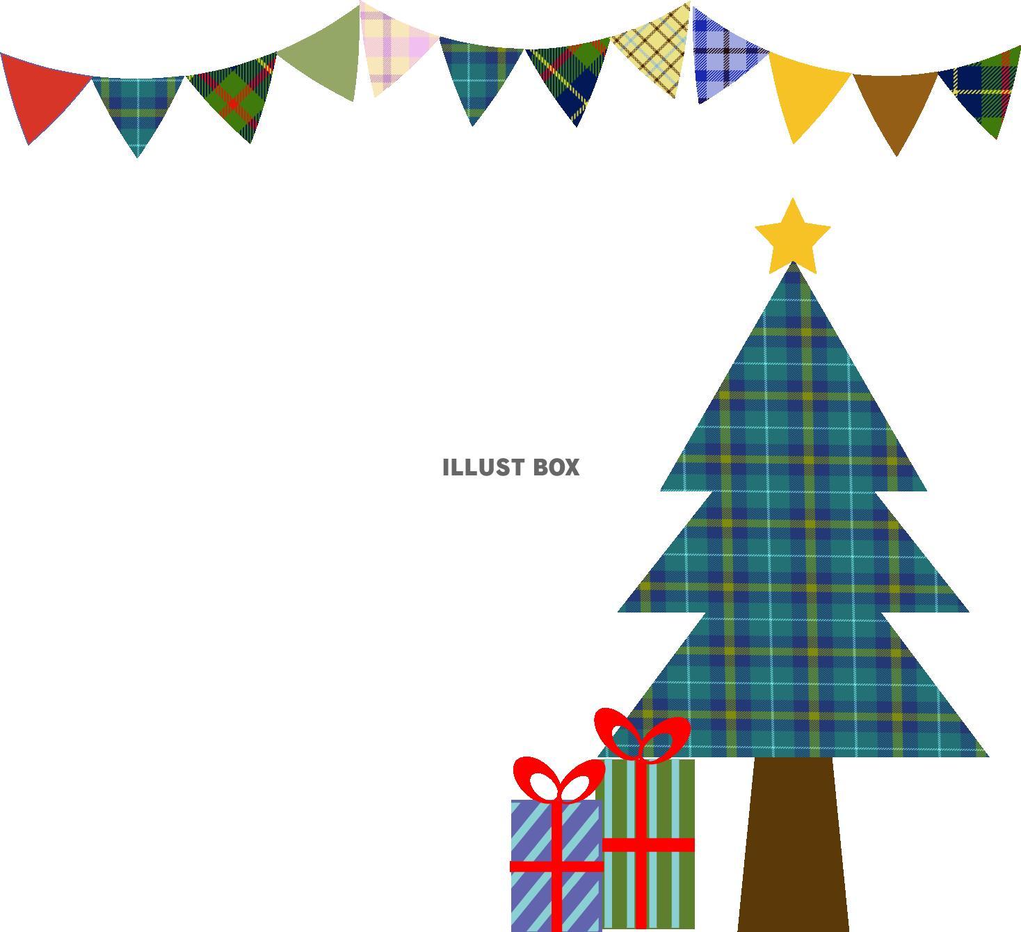 カード クリスマスカード 素材 テンプレート : サンプル画像は線がギザギザに ...