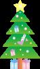 クリスマスツリーうさぎ