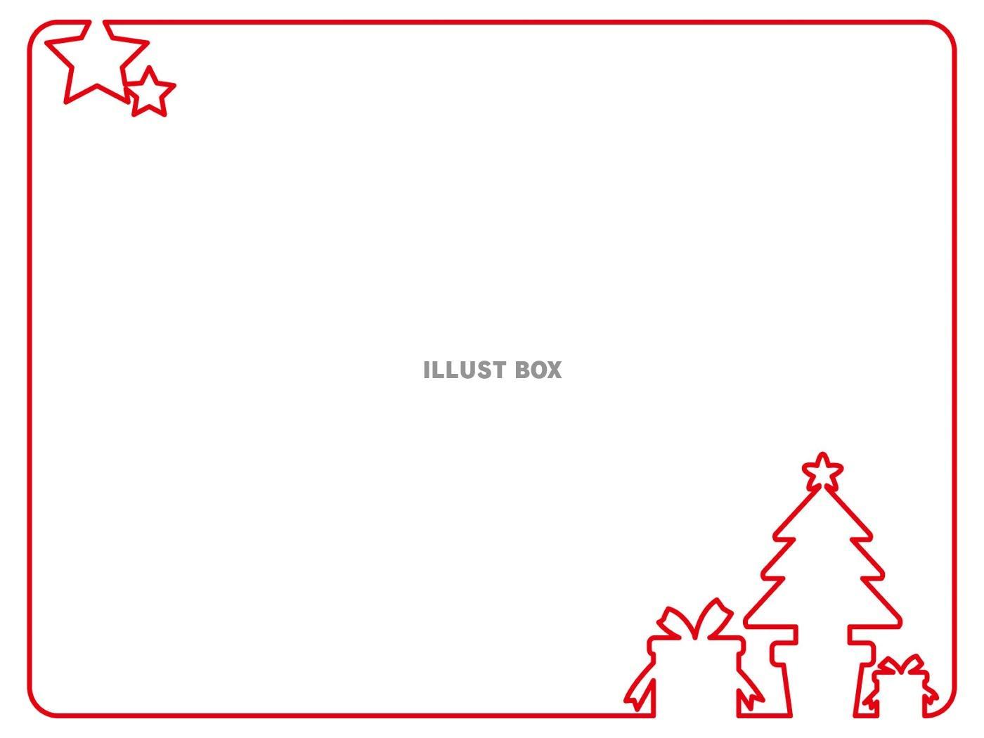 クリスマス イラスト 無料 フレーム 7331 イラス