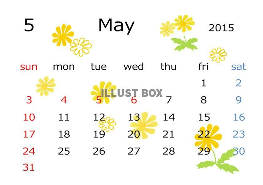 カレンダー カレンダー 2015 一月 : 日历2015年5月,2015年日历,2015年 ...