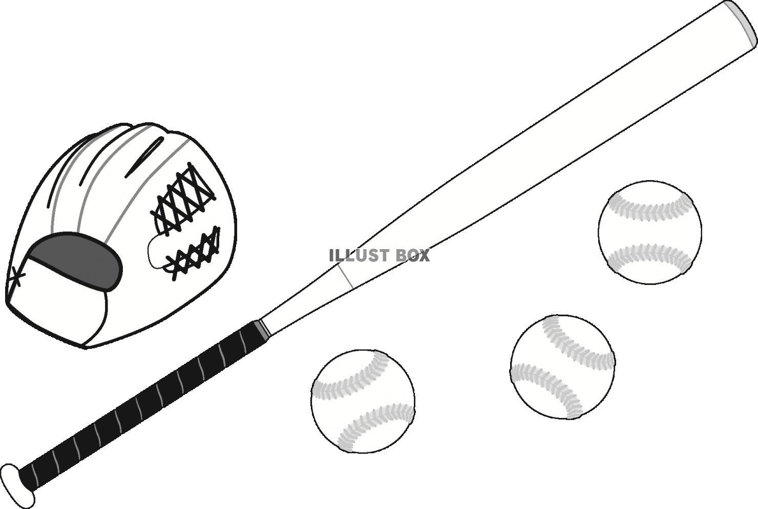 ソフトボール 無料イラスト素材素材ラボ