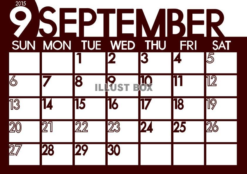カレンダー カレンダー 2015 無料 シンプル : サンプル画像は線がギザギザに ...