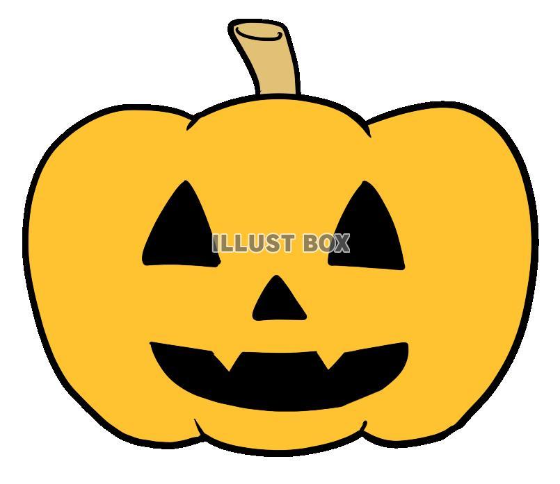 無料イラスト ハロウィンかぼちゃ透過png