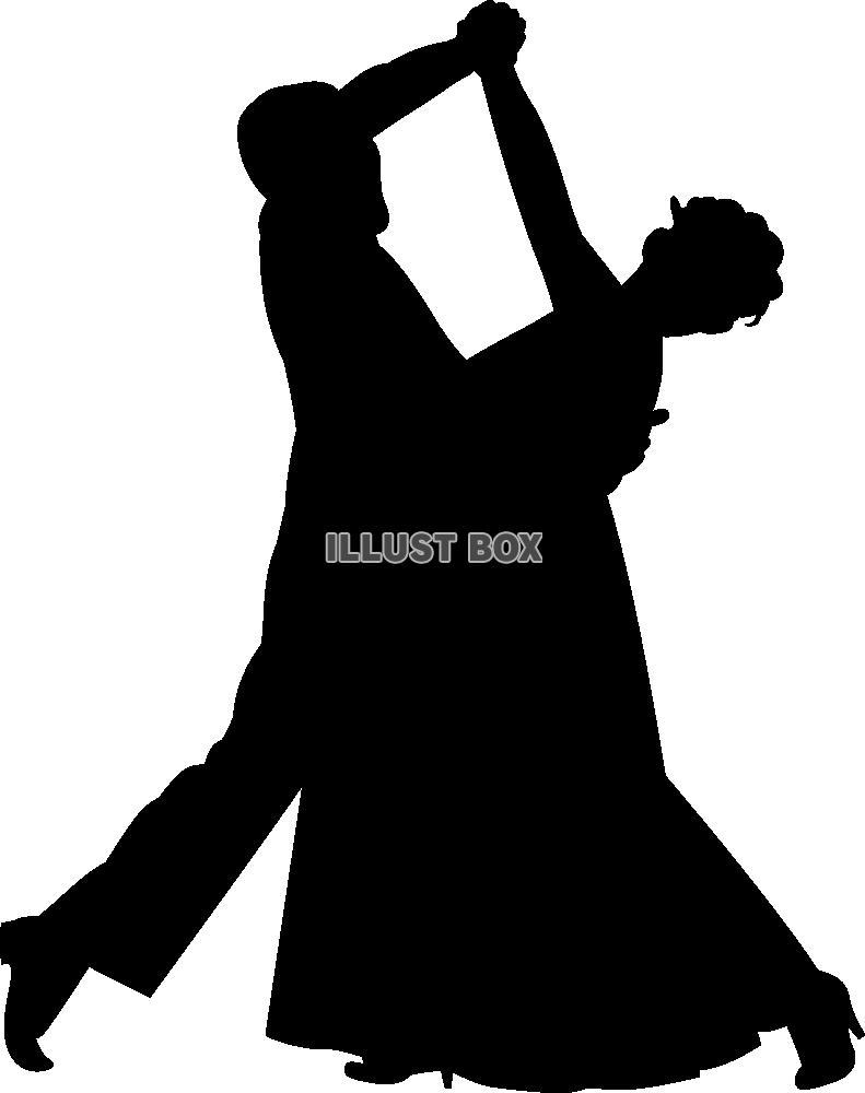 無料イラスト ダンス4pngcseps