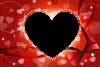 バレンタインフレーム素材