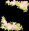 春植物ピンク桜さくらシンプルシルエット飾り装飾枠正方形四角フレーム【無料イラストワンポイントカットフリー素材 商用利用可能OK 透過PNG 背景透明png画像】かわいい可愛いきれい綺麗おしゃれオシャレ
