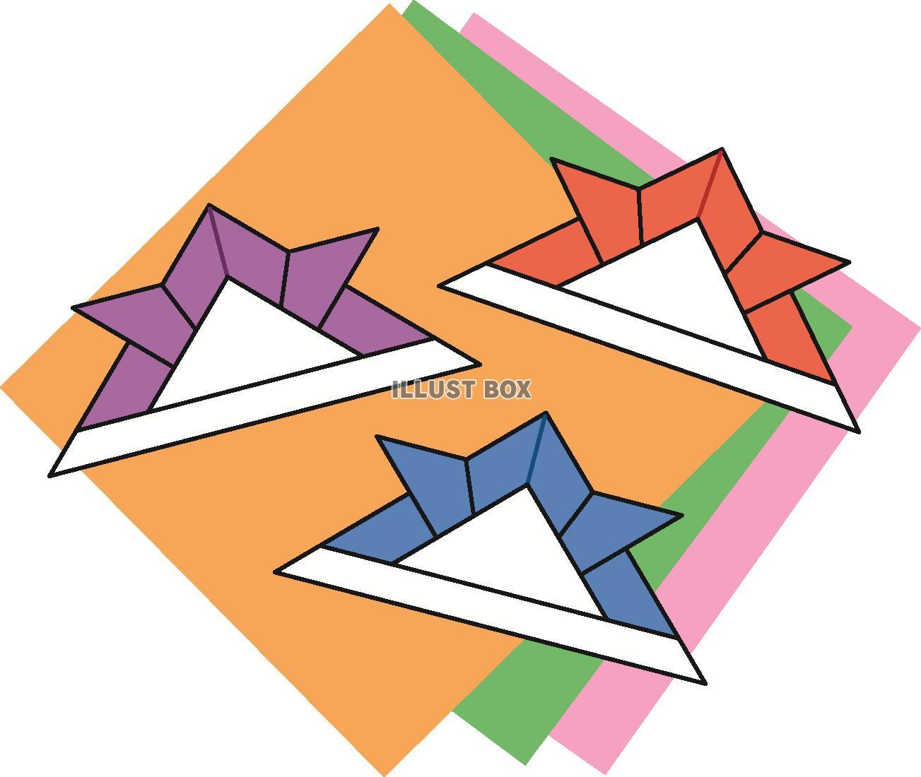 無料イラスト こどもの日の折り紙兜