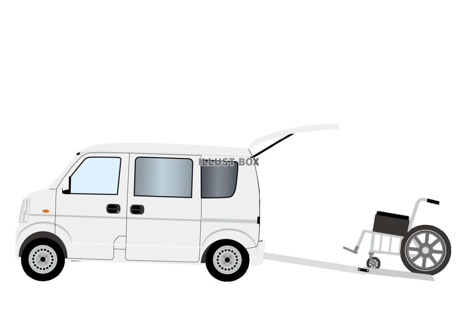 無料イラスト 福祉車両