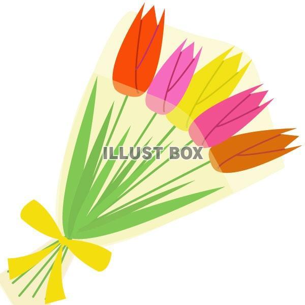 無料イラスト 5月の花1