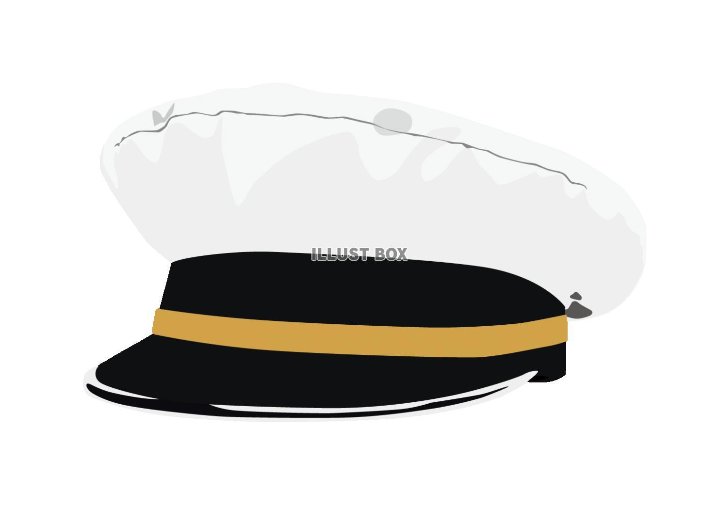 無料イラスト 船長の帽子