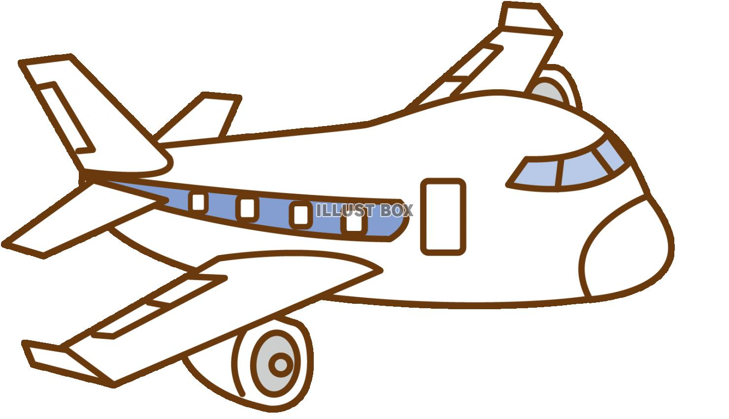 無料イラスト 飛行機