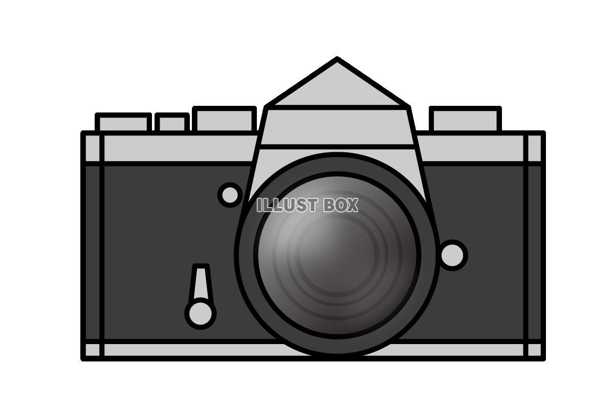 無料イラスト 一眼レフカメラのイラスト2 (透過png)
