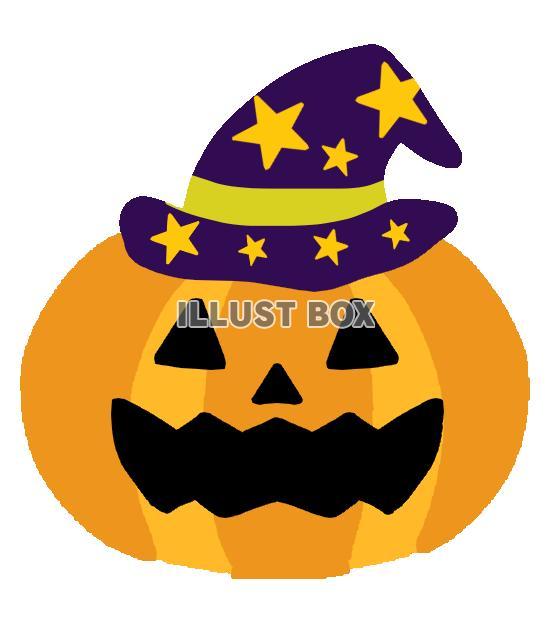 無料イラスト ハロウィンかぼちゃ 透過png