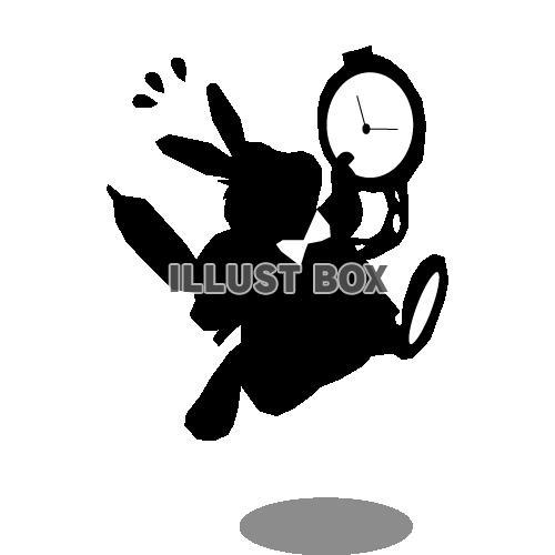 無料イラスト リクエスト素材 不思議の国のアリスのウサギ3
