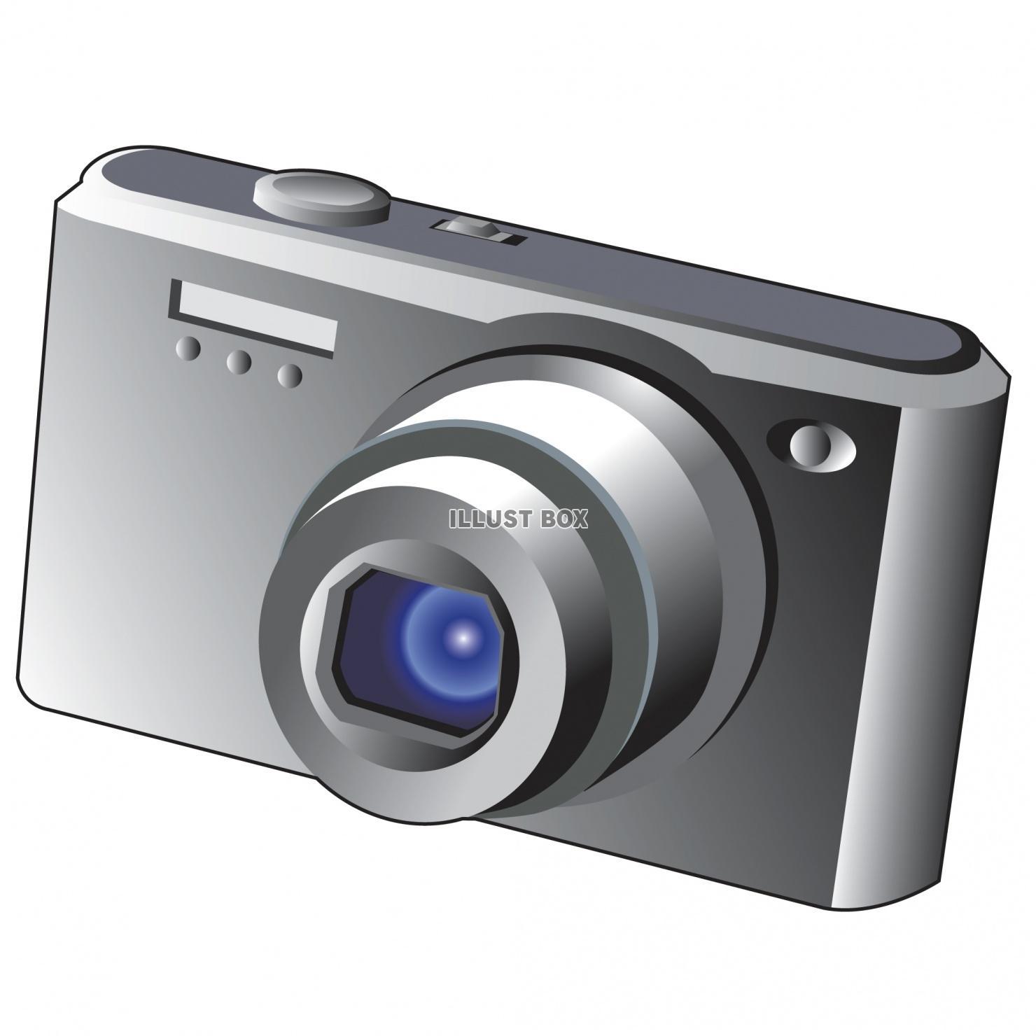 無料イラスト デジタルカメラ