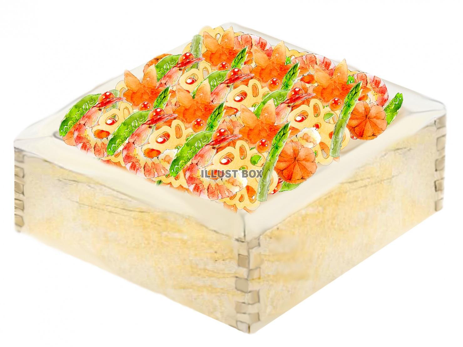 無料イラスト jpeg ちらし寿司