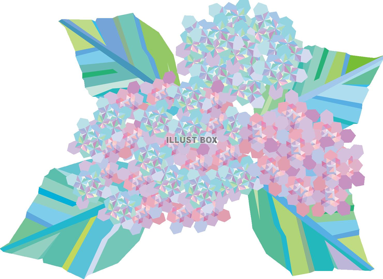 無料イラスト 透過png透過png梅雨6月6月6月紫陽花あじさいアジサ