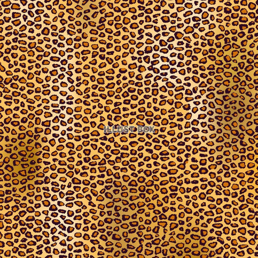 無料イラスト 豹柄パターン