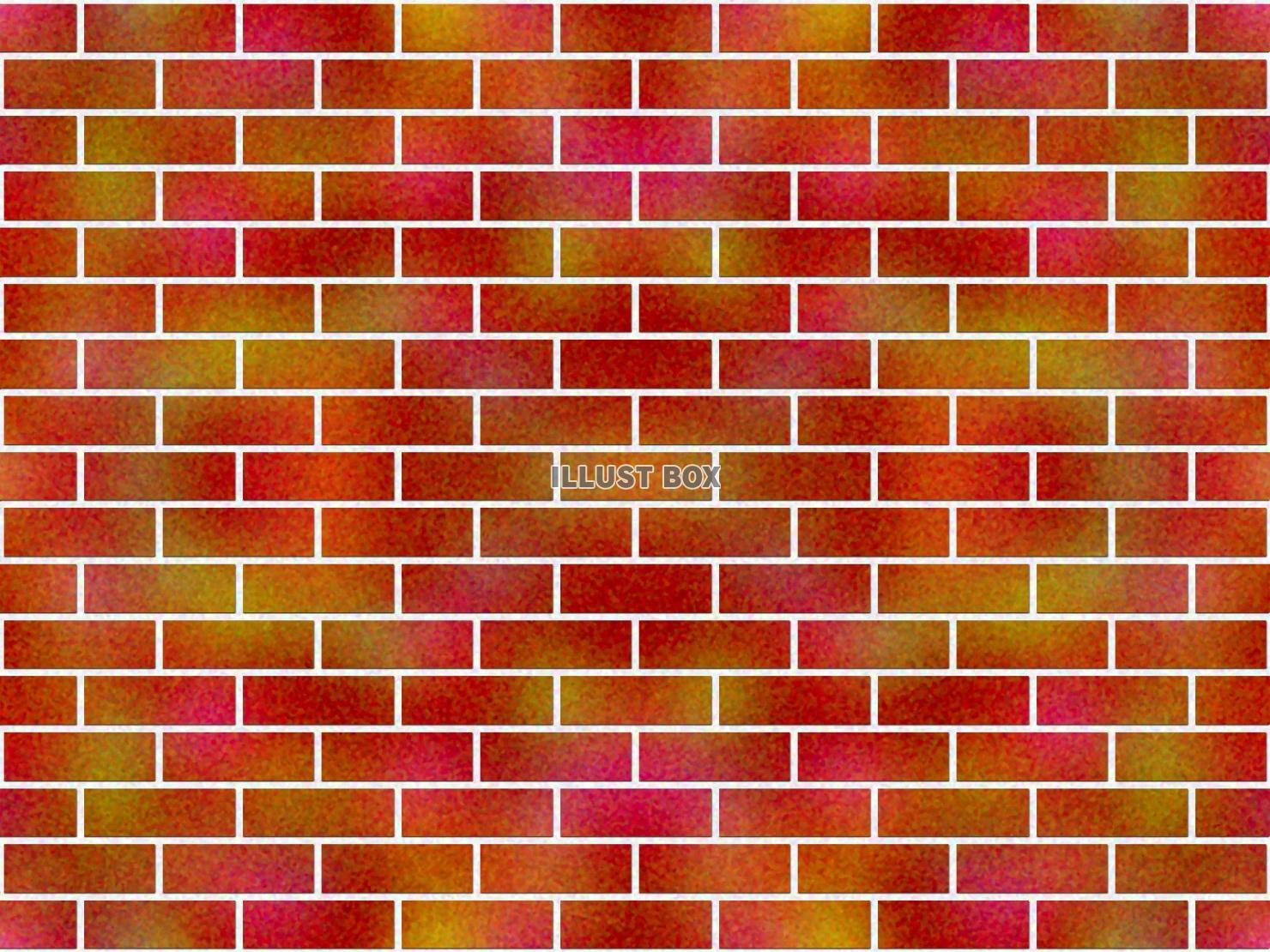 無料イラスト 煉瓦の壁
