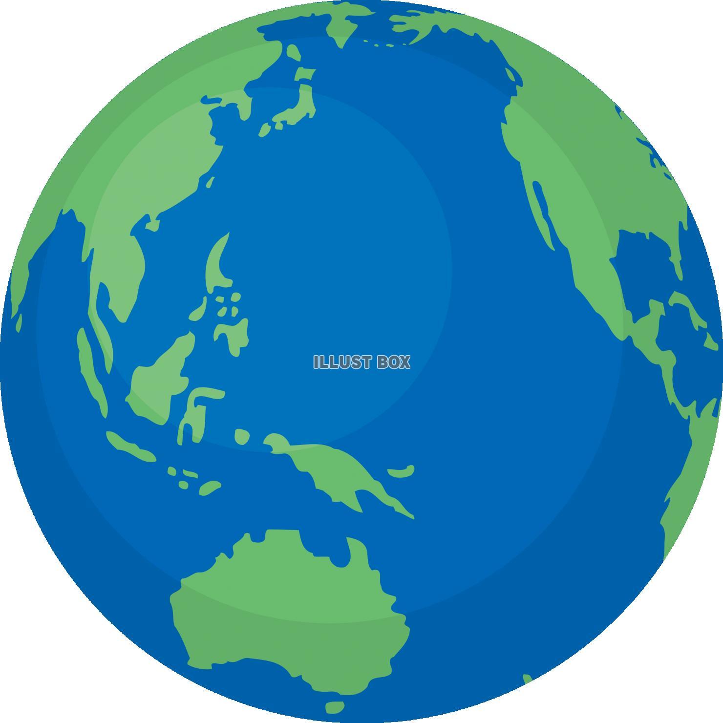 フリー素材 地球