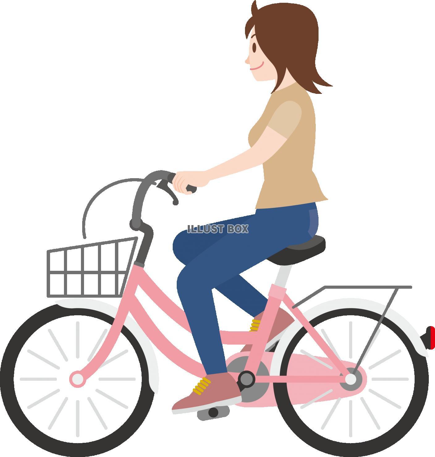 イラスト 無料 自転車 | 7331 イラス